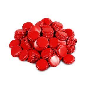 red bottle caps