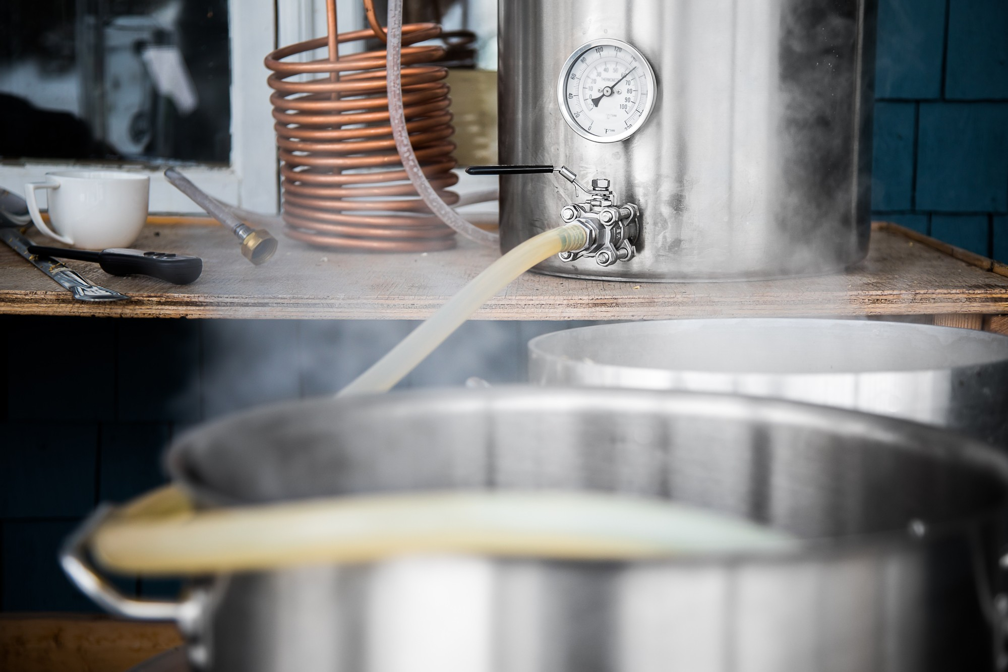 copper wort chiller for wirral homebrew