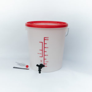 home brew fermenting bucket for homebrewing