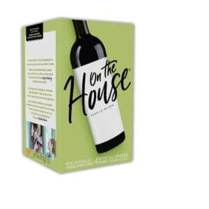 homebrew wine kits uk - on the house blush