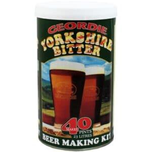 Geordie Yorkshire bitter home brew