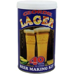 Geordie Lager Homebrew