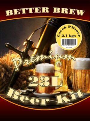 better brew czech pilsner home brew