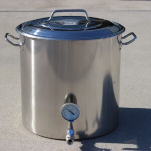 home brew boiling pot