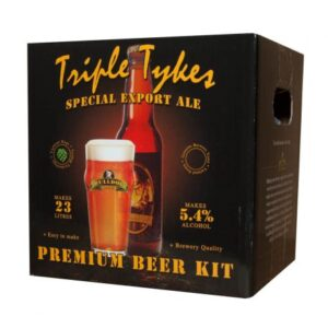 bulldog triple tykes export home brew