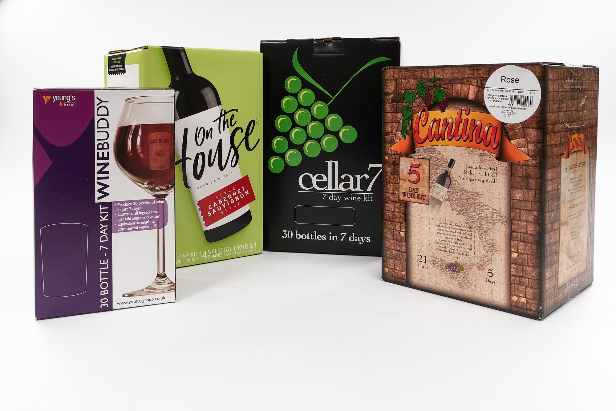 home brew wine kits uk