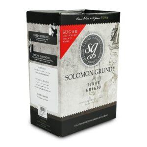 solomon grundy pinot grigio wine kit