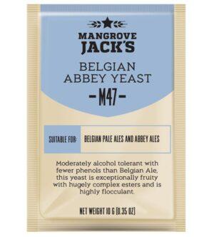 belgian abbey yeast mangrove jacks