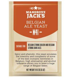 belgian ale yeast mangrove jacks