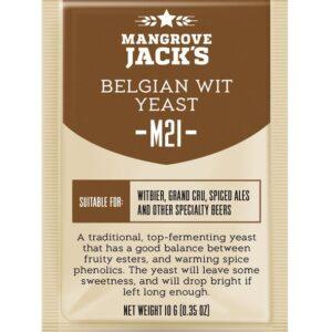belgian wit yeast