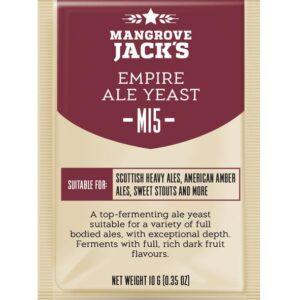 empire ale yeast mangrove jacks