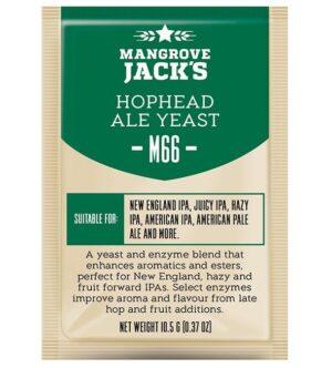 mangrove jacks hophead ale yeast