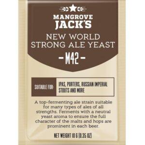new world strong ale yeast mangrove jacks