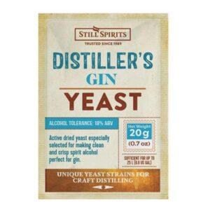 distillers gin yeast