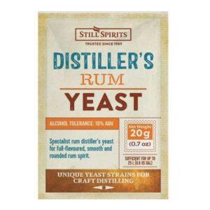 distillers rum yeast